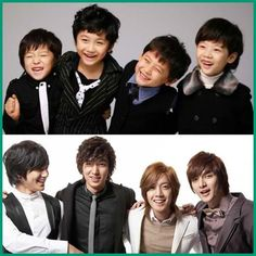 """F4""- Big and little.  OMGosh, the little F4 boys were so cute!  I loved those scenes."