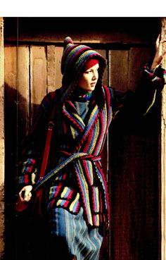 Crochet Wrap Jacket Pattern, Boho Hooded Wrap Coat and Hat, Casual Everyday Jacket - PDF Crochet Pattern Crochet Coat, Crochet Clothes, Diy Shorts, Sport Weight Yarn, Wrap Coat, Crochet Hook Sizes, Jacket Pattern, Sweater Coats, Vintage Crochet