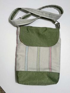 Hand printed crossbody bag. Messenger bag. by lindywhittonstudio, $55.00