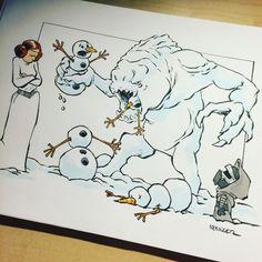 Calvin et hobbes star wars 13 Star Wars Film, Star Wars Fan Art, Bd Star Wars, Star Wars Comics, Star Wars Cartoon, Star Wars Jokes, Star Wars Kylo Ren, Patrick Nagel, Calvin Et Hobbes