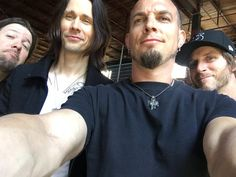 """""""Me and the boys"""" via Mark Tremonti                                                                                                                                                                                  More"""