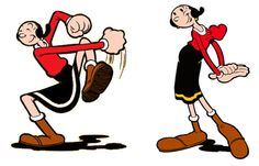 In Character: Olive Oyl