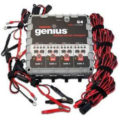 New Review.  The NOCO Genius G4 6v/12v 4.4 Amp 4-Bank Smart Battery Charger is wicked smart!
