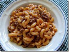 Hamburger Noodle Recipe