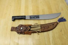 Leather Machete Sheath | collins-co-hartford-machete-knife-with-decorative-leather-sheath ...