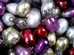 Christmas Decorations in Petersham Nursery shop