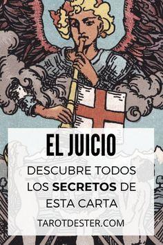 El Juicio es una de las cartas de Tarot más lucidas. Es el XIV Arcano Mayor. Descubre todos los secretos y significados pulsando la imagen. Tarot Significado, Baby Witch, Wicca, Comic Books, Study, Fictional Characters, Tarot Decks, Tarot Cards, Tarot Spreads