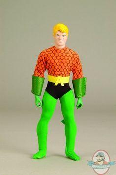"Mego Dolls | ... Super Heroes Aquaman Mego Style 8"" by Mattel | Man of Action Figures"