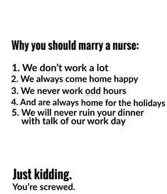 Lol youre screwed - Nursing Meme - Nurse humor. Lol youre screwed The post Nurse humor. Lol youre screwed appeared first on Gag Dad. Rn Humor, Medical Humor, Medical Assistant, Nursing Tips, Nursing Memes, Nursing Quotes, Nursing Board, Nursing Scrubs, Nursing Career