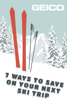 These ski vacation tips could help you save money without you sacrificing time on the slopes. #travelsmart #vacationprep #enjoyskiing