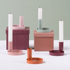 """A colourful and modern take on a classic candlestick,"" Anna says. Price DKK 14,40 / SEK 19,80 / NOK 19,90 / EUR 1,98 / ISK 380 / GBP 1.97"
