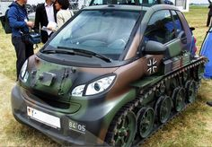 Smart Martini Automobile Auto Armored Car Vehicles Weird