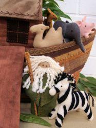 Pattern - Noah's Ark Felt Pattern - Stitching Cow