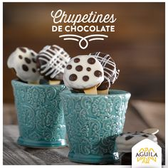 Chupetines de #chocolate