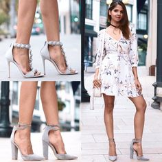 Shoes by lolashoetique.com dress by REVOLVE and bag by Rebecca Minkoff <3 :-) #losangeles #dress #shoes #heels #revolveme
