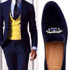 Elegancia masculina.
