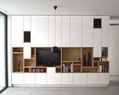 asymetrisch, open en dicht, kleur contrasten