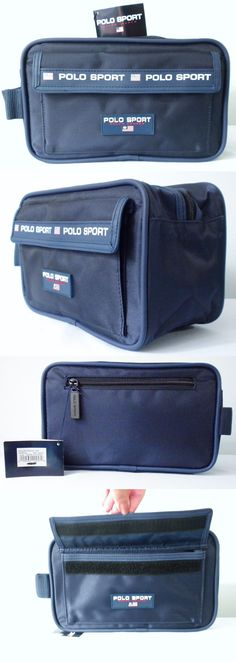 Other Mens Accessories 1060: Roomy Ralph Lauren Polo Sport Navy Blue Toiletry Shaving Bag Dopp Kit Travel Nwt -> BUY IT NOW ONLY: $35.1 on eBay!