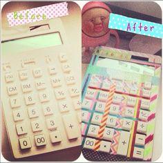 washi tape calculator