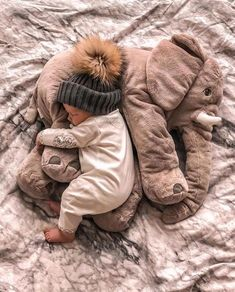 Plush Elephant Pillow Toy – Best Baby And Baby Toys Baby Decoration, Baby Toys, Elephant Cushion, Foto Newborn, Baby Smiles, Foto Baby, Cute Elephant, Elephant Birth, Baby Elephant Nursery