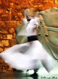 Whirling Dervish Konya By Alika