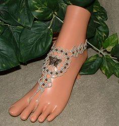 crochet foot bracelet - Bing Images
