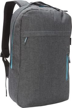 Everest Trendy Lightweight Laptop Backpack Charcoal - via eBags.com!