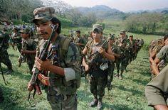 Nicaragua's Contra rebels in 1980s/90s