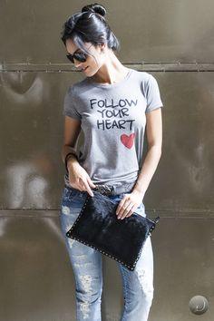 #debrummodas #inverno  #tshirt #estampada #jeans #style #estilo #moda #fashion #modafeminina