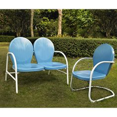 Vintage tulip lawn chairs