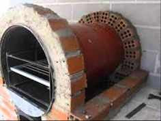 APRENDE COMO HACER UN HORNO DE BARRO FACIL 1 Oven Diy, Diy Pizza Oven, Pizza Oven Outdoor, Grill Oven, Stove Oven, Bbq Grill, Wood Fired Oven, Wood Fired Pizza, Four A Pizza