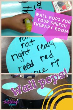 wall pops in your sp