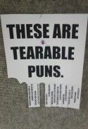 Anything that combines my love of bad puns with my love of joke public postings gets an automatic pin.
