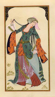 "Levni ""Dancer Woman"" by esraart on deviantART"
