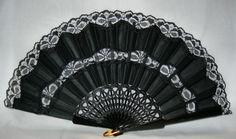 Lace Fans, Spanish Fan, Abanicos de Puntilla, Hand Fans, Flamenco, Spanish Hand Fans