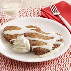 Chocolate Heart-Shaped Pancakes