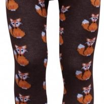 Slugs and Snails Tights - Foxy