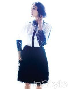Kim Min Jung InStyle Korea Magazine December Issue '12