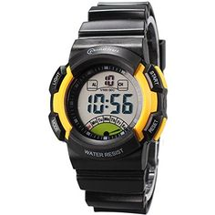 Sport Digital Waterproof Sport Students Boys Watch for Kids >>> Continue to the product at the image link.(This is an Amazon affiliate link)
