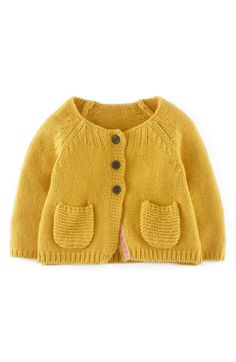 Mini Boden Knit Cardigan (Baby Girls) | Nordstrom