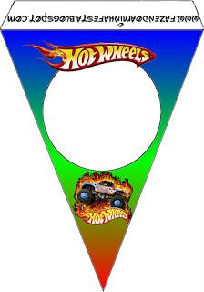 Hot Wheels Party: Free Party Printables.