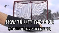 How to Raise the Puck and improve your accuracy Hockey Shot, Hockey Puck, Hockey Players, Hockey Birthday Parties, Agility Workouts, Hockey Drills, Youth Hockey, Hockey Training, How To Teach Kids