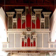 Kroppenstedt, Sachsen-Anhalt, Bördekreis, St.-Martinikirche, organ, façade