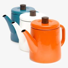 Japanese Enamel Kettle - POKETO shop