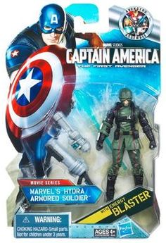 Visit http://www.toyarena.com/product_info.php/captain-america-first-avenger-hydra-armored-soldier-action-figure-p-6523        Captain America First Avenger: #12 Hydra Armored Soldier Action Figure