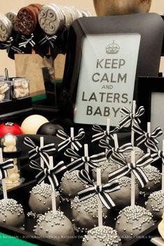 Fifty Shades of Grey Themed Party via Kara's Party Ideas | KarasPartyIdeas.com - great idea for bachelorette party!!!