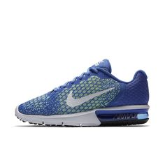 Nike Air Max Sequent 2 Women's Running Shoe Size 10.5 (Blue) - Clearance  Sale