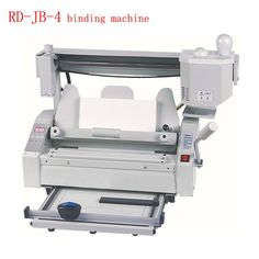 Hot melt glue binding machine Desktop glue books binding machine glue book binder machine 110V/220V RD-JB-4. Yesterday\'s price: US $440.00 (390.06 EUR). Today\'s price (November 21, 2018): US $413.60 (369.22 EUR). Discount: 6%. #Office #Electronics