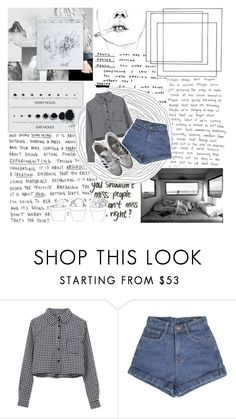 """""""when everything is lonely i can be my own best friend, i get a coffee and the paper, have my own conversations ;"""" by riannakuma ❤ liked on Polyvore featuring Cale, Identity and edenandreaxo"""