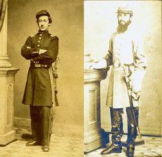 Edward y Charles Jonas: Dos hermanos que combatieron en diferentes bandos en la Guerra Civil Norteamericana  #Historia